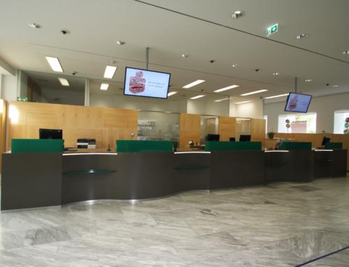 Bankfilialen Foyers